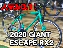 2020 GIANT(ジャイアント) ESCAPE RX2(エスケープRX2)