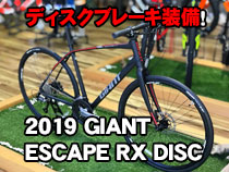 2019 GIANT(ジャイアント) ESCAPE RX DISC(エスケープRXディスク)